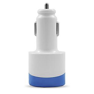Cargador de Carro para Celular 2.1 AMP Azul
