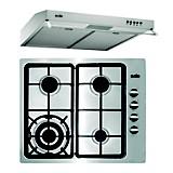 Combo Cocina Empotrable SOLCO036 + Campana Extractora TURE15CO