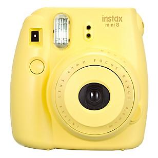 Cámara Instax Mini 8 Amarillo + Pack 10 Películas