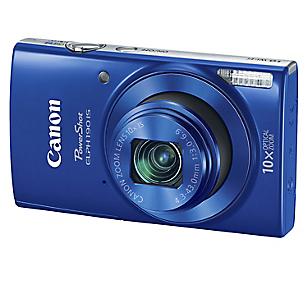 Cámara Digital Power Shot Elph 190 Kit Azul