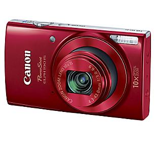 Cámara Digital Power Shot Elph 190 Kit Rojo