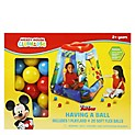 Inflable con 20 Pelotas Mickey