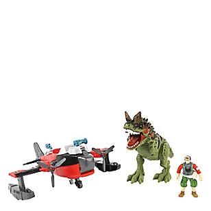 Set de Dinosaurio Mediano con carro