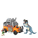 Set Dinosaurio Mediano con Carro