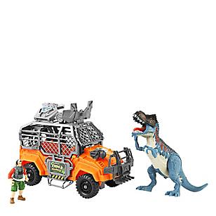 Set Dinosaurio Mediano con Carro