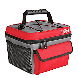Cooler Soft 10 Rugged Lunch Rojo