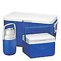 Pack de Coolers 48 qt Azul