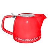 Tetera Con Filtro 800ml Roja