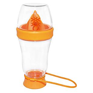 Botella Con Exprimidor 600ml Naranja