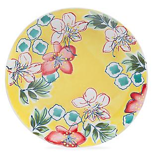 Plato Gipsy Floral 21,5 cm Amarillo