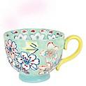 Mug Gypsy Floral Verde