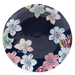 Plato Gipsy Floral Azul