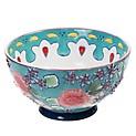 Bowl Gypsy Floral Turquesa