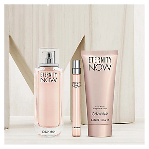 Perfume Eternity Now Mujer Edp 100 ml + BL 100 ml + Edp 10 ml