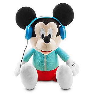 Peluche C Audífonos Mickey Baila