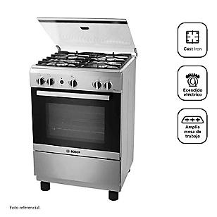 Bosch Cocina 4 Quemadores PRO425 Inox