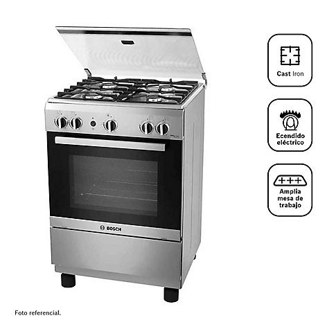 Cocina Bosch 4 Quemadores Pro425 Inox