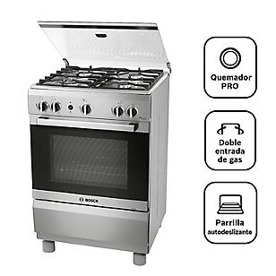 Bosch Cocina 4 Quemadores PRO445 Inox