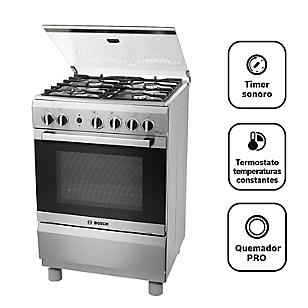 Bosch Cocina 4 Quemadores PRO447 Inox