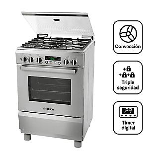 Bosch Cocina 4 Quemadores PRO467 Inox