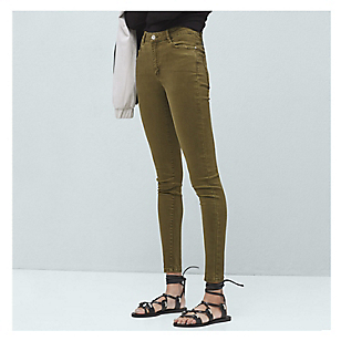 Pantalón Mujer High Pitillo
