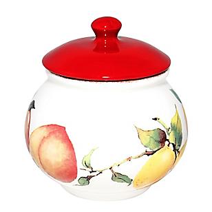 Azucarero Frutas Handpaint