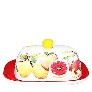 Mantequillera Frutas Handpaint