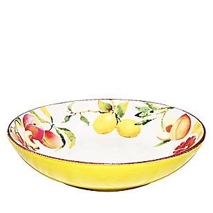 Ensaladera 28,5 cm Frutas Handpaint