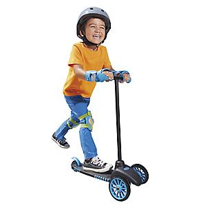 Scooter Tri Azul Negro
