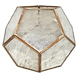 Farol Hexa Gold Antique 20 cm