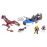 Set Figuras pulpo Vehículo y Accesorios