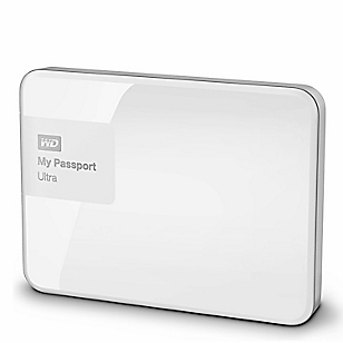 Disco Duro My Passport Blanco 1 TB