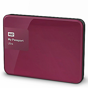Disco Duro My Passport Rojo 1 TB
