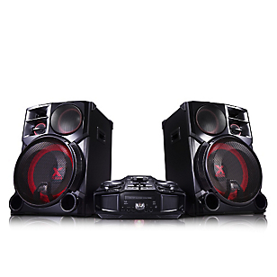 Minicomponente 4800 W Karaoke Multi Bluetooth