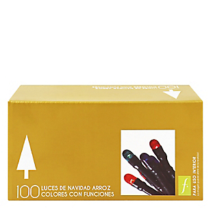 Luces x 100 Rojas Arroz