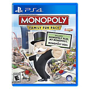 Videojuego para PS4 Monopoly Family Fun Pack