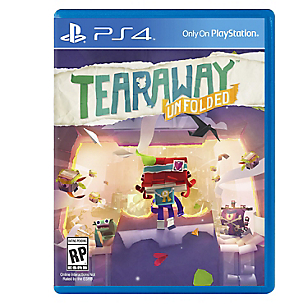 Videojuego para PS4 Tearaway Unfolded