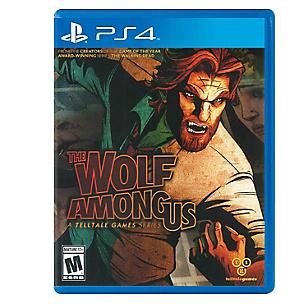Videojuego para PS4 The Wolf Among Us