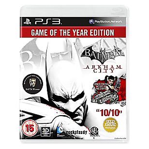 Batman Arkham City Game of the Year para PS3