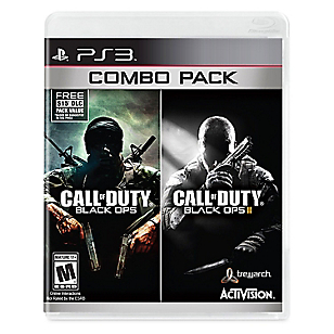 Call of Duty Black Ops I  y  II  para PS3