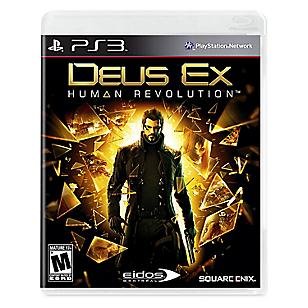 Deus ex Human Revolution para PS3