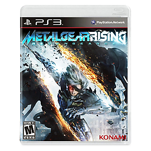 Videojuego Metal Gear Rising Revengeance para PS3