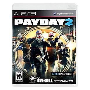 Videojuego Payday 2 para PS3