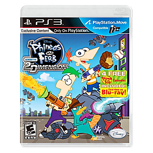 Videojuego Phineas and Ferb Across the second Dimension para PS3