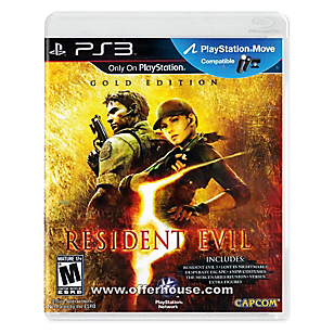 Resident Evil 5 Gold Edition para PS3