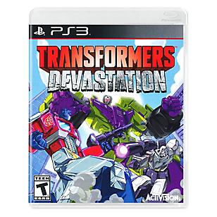 Transformers Devastation  para PS3