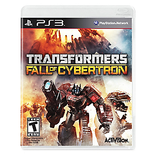 Transformers Fall of Cybertron para PS3