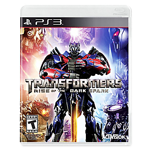 Transformers Rise of the Dark Spark para PS3