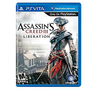 Assassin's Creed III Liberation para PS Vita