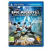 Epic Mickey 2 El Retorno de dos héroes para PS Vita